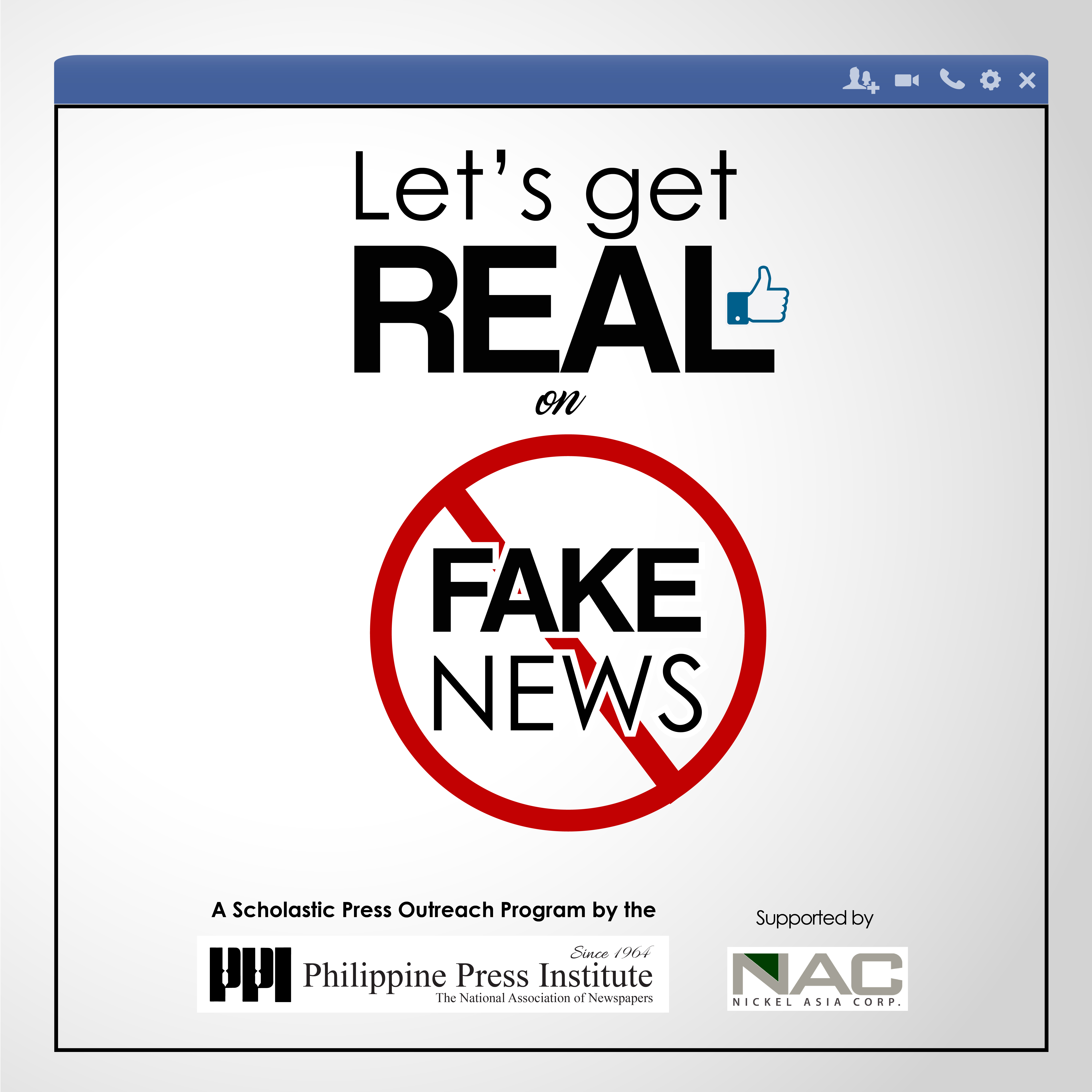 Let's Get Real on Fake News Graphics FA-11