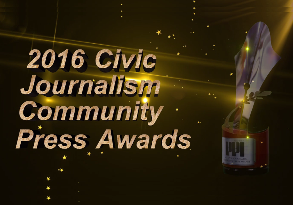 2016 Civic Journalism Community Press Awards
